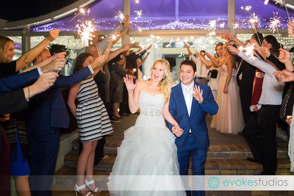 Sparkler wedding photogaphy