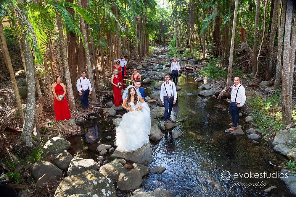 Cedar creek wedding photographer