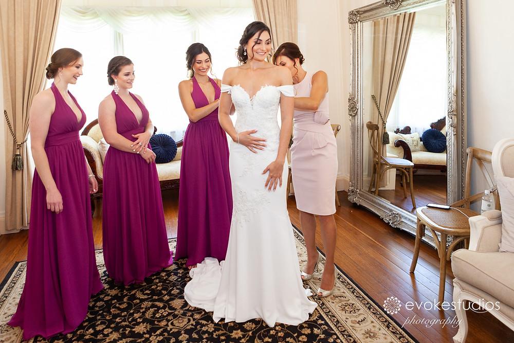 Bride at Gabbinbar