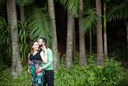 Brisbane rain forest maternity photographer
