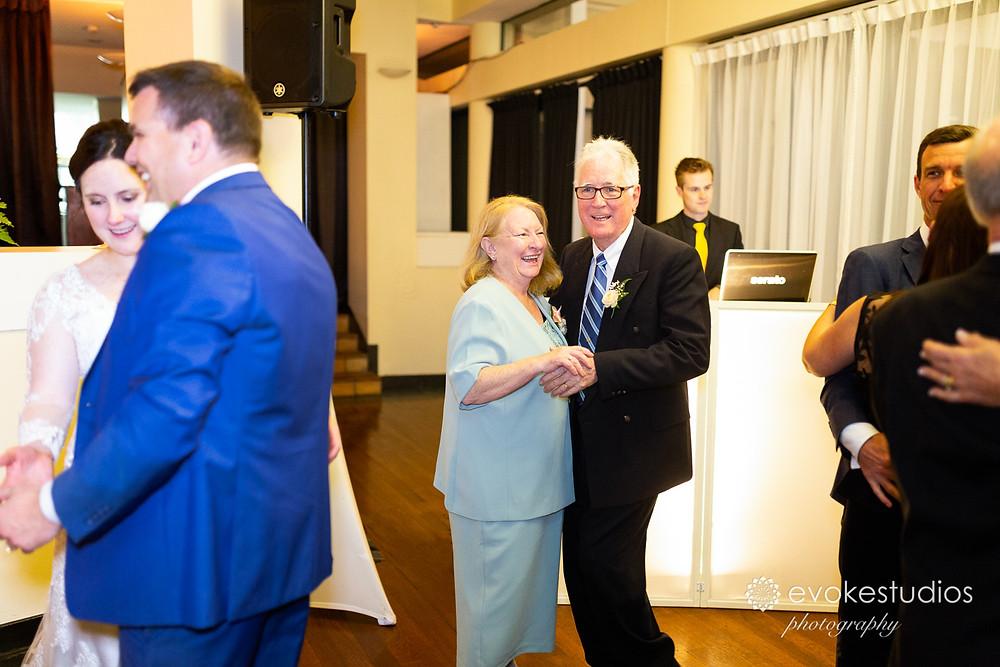 Parents dance.