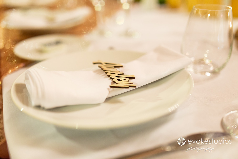 Place cards that double as gifts