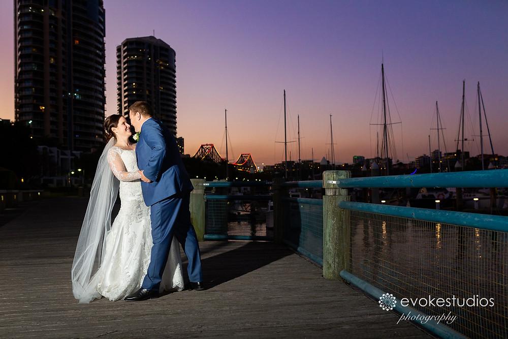 Story bridge wedding photography