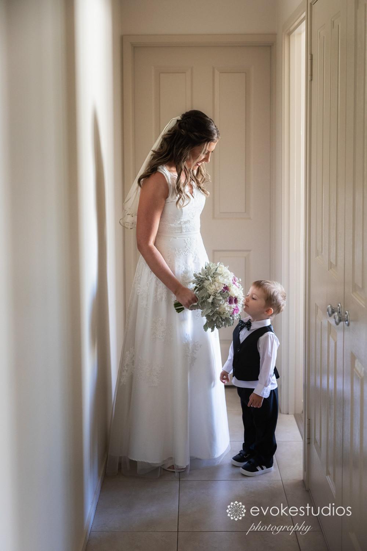 bride & son