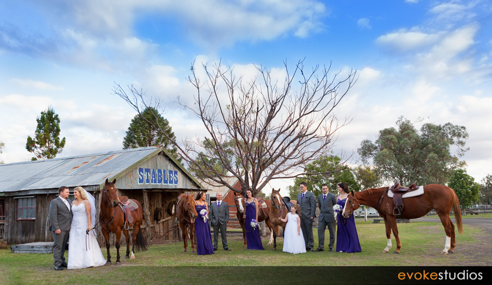 Stables wedding