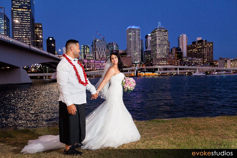 Brisbane city bride