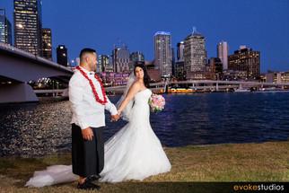 Clarence & Rebecca's The Greek Club Wedding