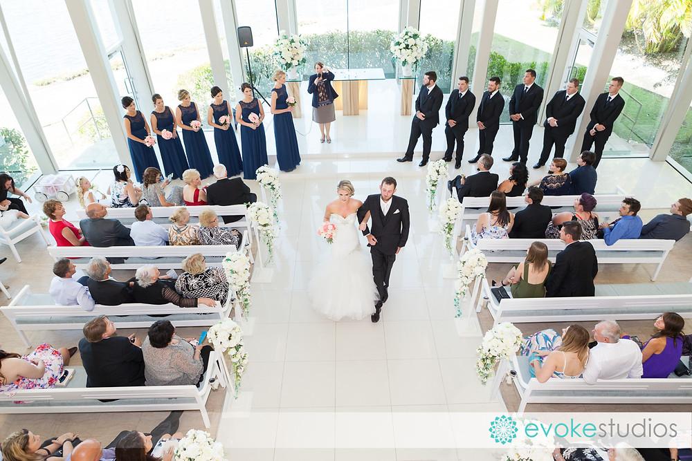 Sanctuary cove wedding chapel photographer