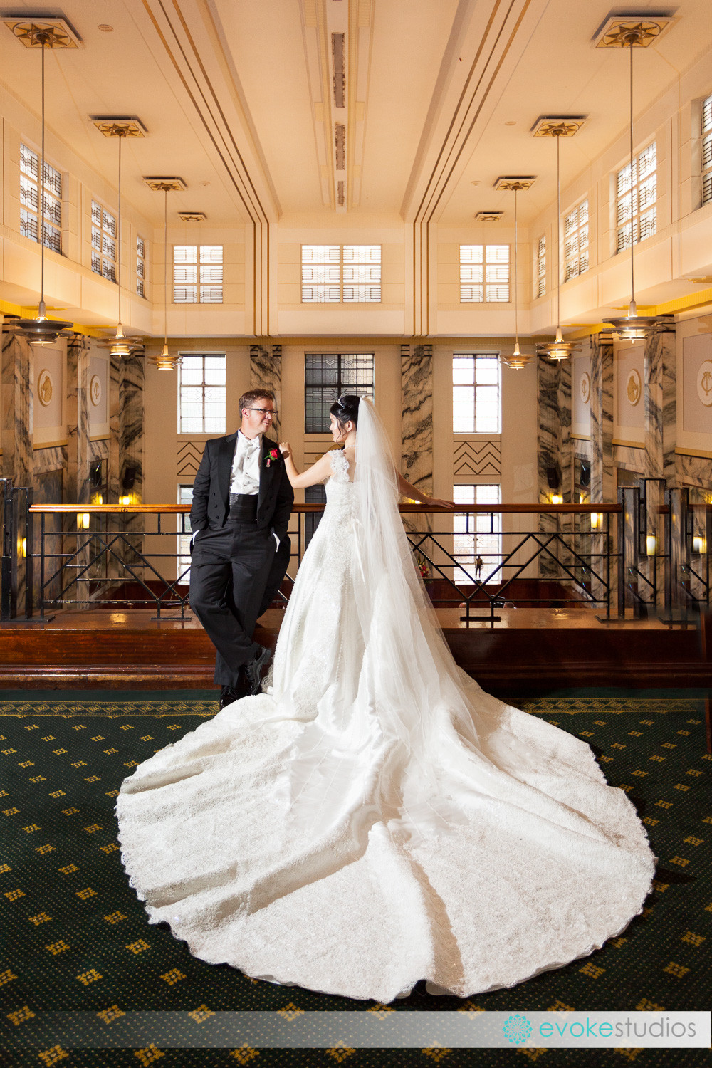 Tattersalls Club wedding photographer