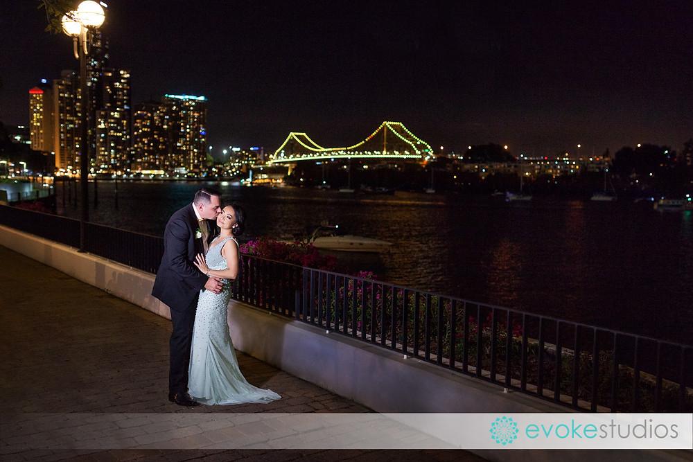 Story bridge wedding photos