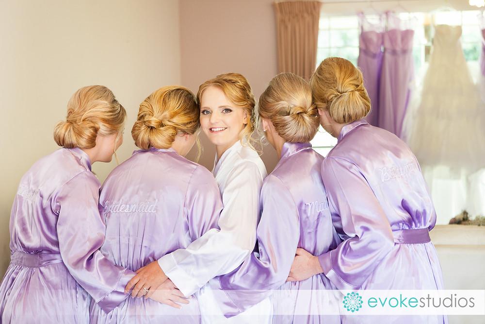 Robes bridal hair