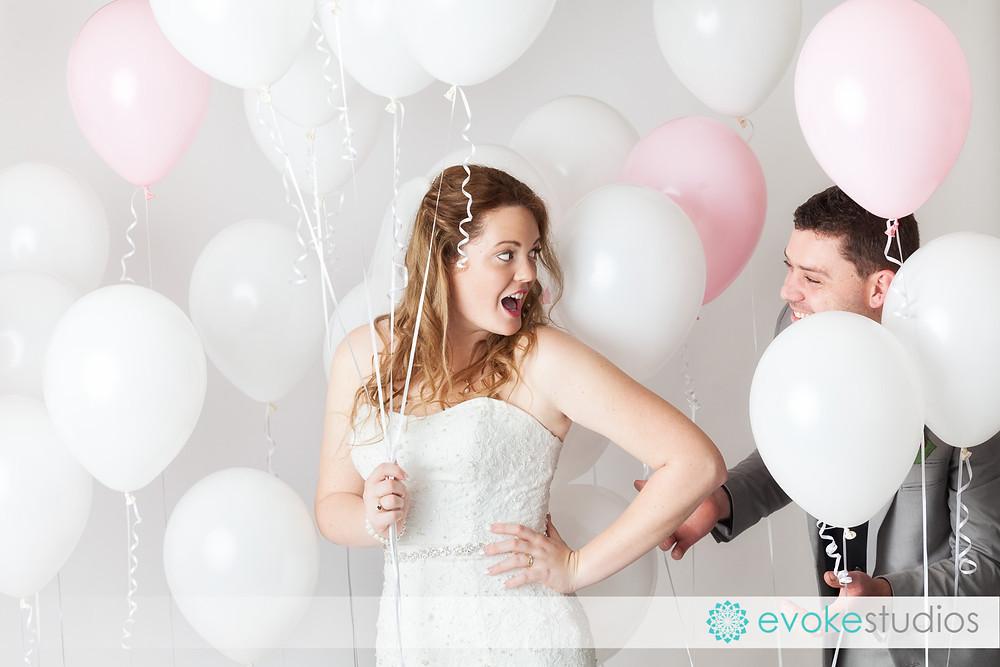 Hemium balloons wedding photography