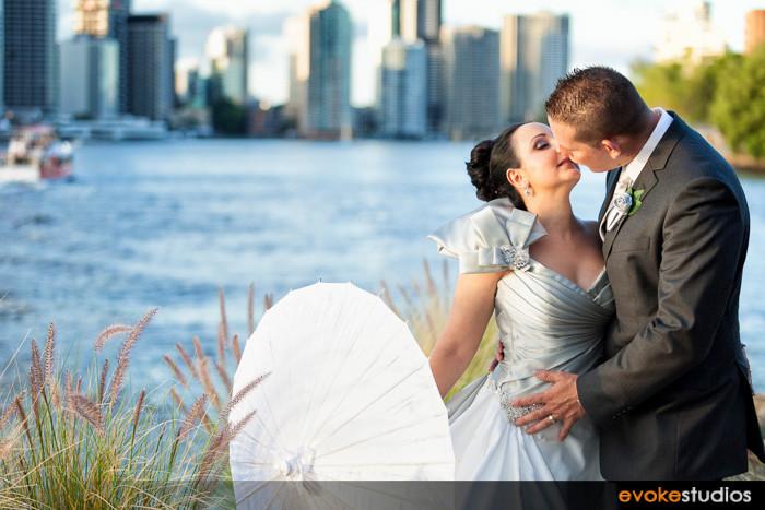 Kangaroo point wedding