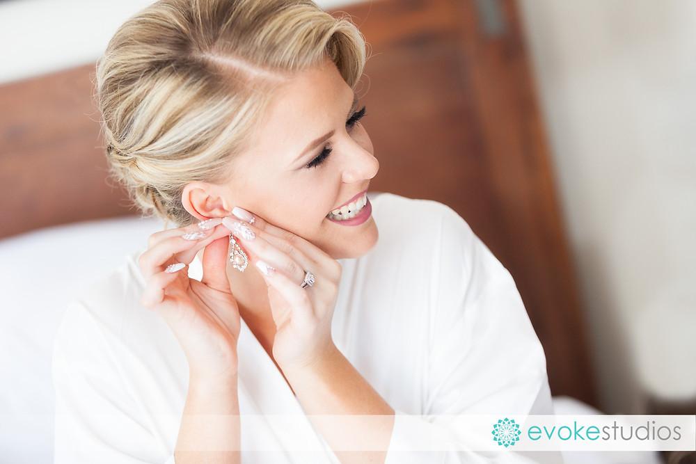 Brides ear ring