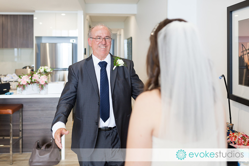 Brides father