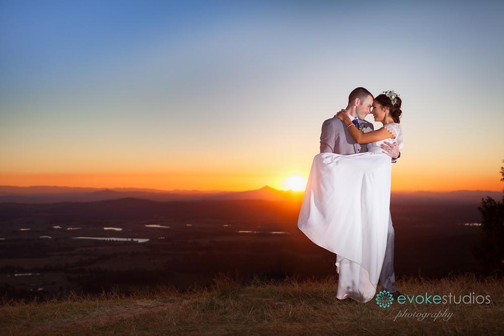 Wedding photographer mt Tamborine