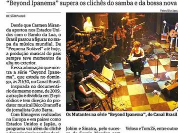 BRAZILIAN PRESS HIGHLIGHTS BEYOND IPANEMA