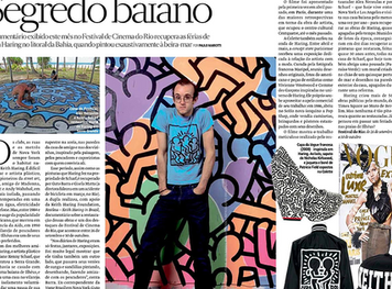 RESTLESS - KEITH HARING IN BRAZIL PREMIERES AT FESTIVAL DO RIO!