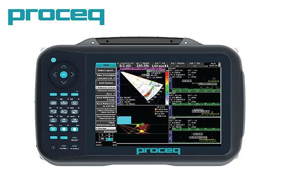 Advanced Ultrasonic Proceq Flaw Detector 100