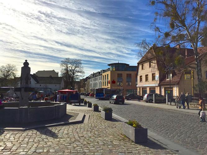 Ortszentrum Rüdersdorfs