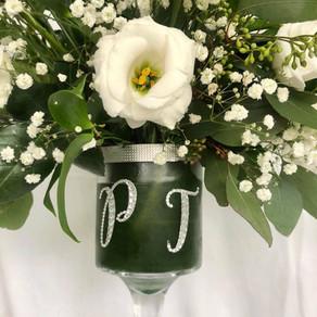 P+J Glass arrangement