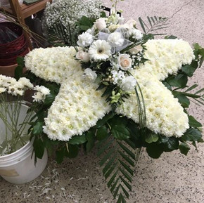 All white star