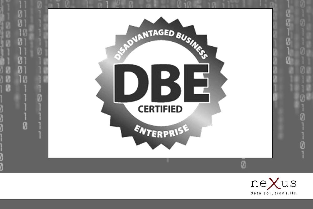 neXus Data Solutions DBE Certified