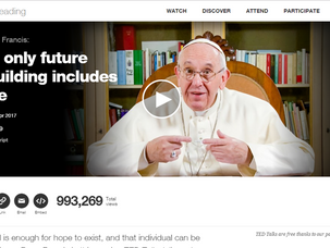 His Holiness, Pope Francis Speaks on Science, Technology, and Relationship