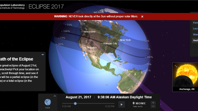 How Much of the Great Eclipse of 2017 Will You See?