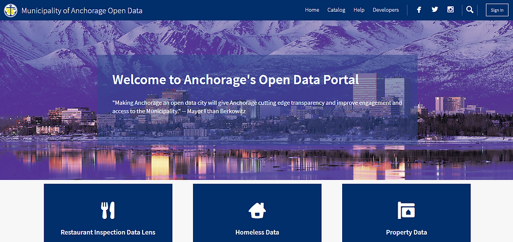 Anchorage Muni Data Portal
