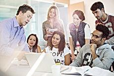 Professor & Students