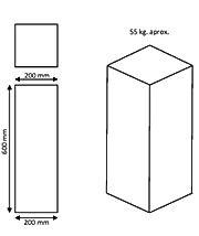 hito rectangular