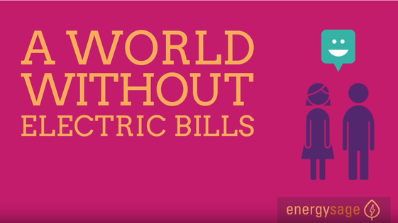 A world without Electric bills