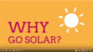 Why Go solar