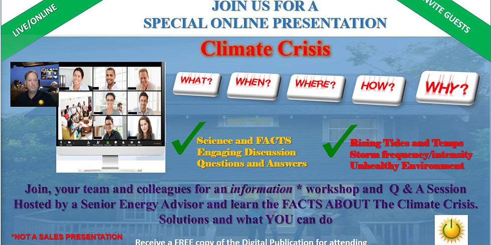 Evolution of Energy: Climate Crisis ONLINE