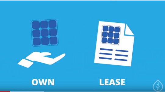 Own or Lease Solar panels