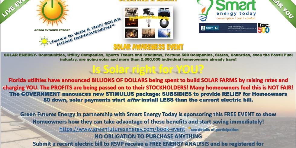 Evolution of Energy Solar Awareness Event
