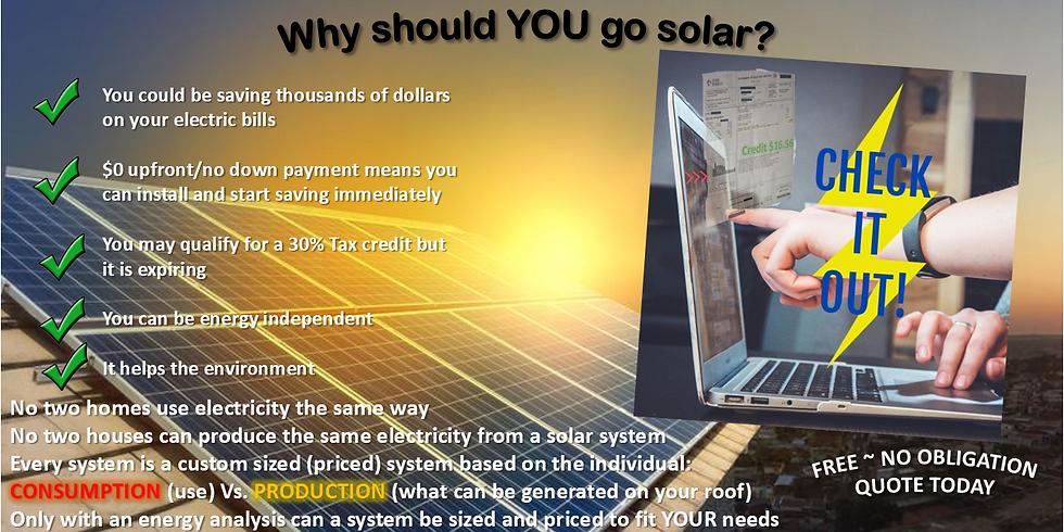 FREE NO OBLIGATION ONLINE ENERGY CONSULTATION