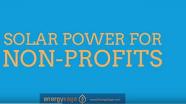Solar Power for Non-Profits