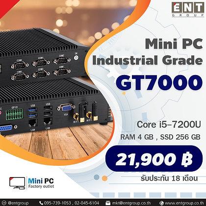 Mini PC GT7000 Coer i5-7200U (RAM 4 GB, SSD 256 GB) มินิพีซีเกรดอุตสาหกรรมระบาย