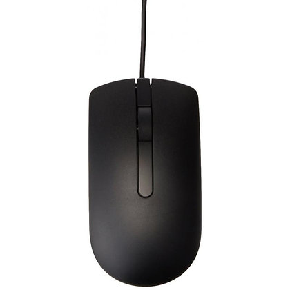 Dell Optical Mouse - MS116 - Black