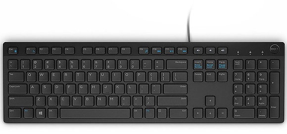 Dell Multimedia Keyboard (Thai) - KB216 - Black