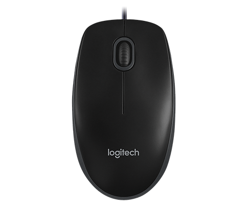 Logitech Mouse B100-Black