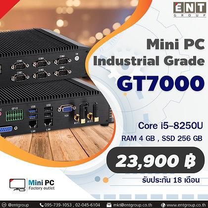Mini PC GT7000 Coer i5-8250U (RAM 4 GB, SSD 256 GB) มินิพีซีเกรดอุตสาหกรรมระบาย