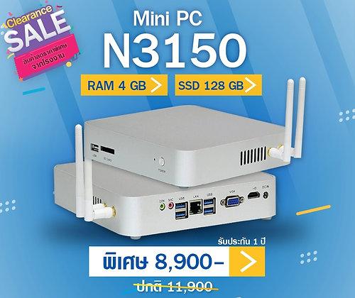 Mini PC N3150 (RAM4/SSD128GB)