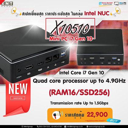 Mini PC X10510 (RAM16/SSD256)