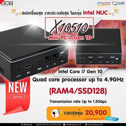 Mini PC X10510 (RAM4/SSD128)