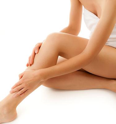 Dauerhafte Haarentfernung Damen Beine Füße