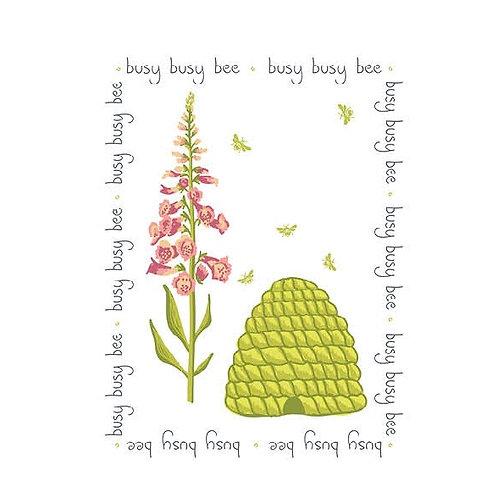 Household - Tea Towel - Busy Bee