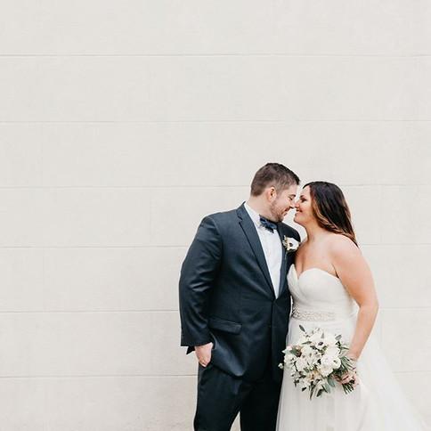 Jenny and Nick's wedding sneak peeks are